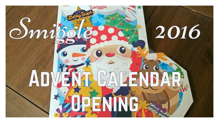 Smiggle Stationery Advent Calendar opening 2016 *Spoiler Alert* Youtube video from A Cornish Mum blog showing the contents of the Smiggle 2016 Advent Calendar. Bright stationery and more!