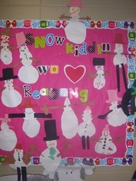 reading bulletin board: Decor Ideas, Classroom Decor, Reading Bulletin Boards, Schools Ideas, Winter Bulletin Boards, Teaching Ideas, Snow Kids, Love Reading, Boards Ideas