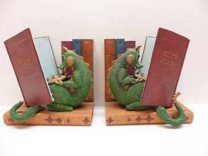 Children's Dragon Book Ends, Bedtime Stories, Dinosaur, Kids, Fairy Tales