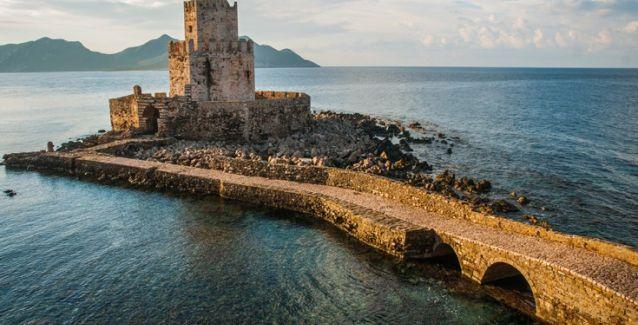 Methoni castle - peloponnese Greece