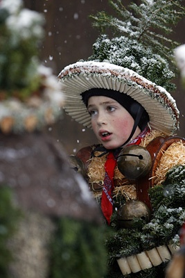 Swiss custom of old new year on Jan.13 called Silvesterchlause ringing in the new year
