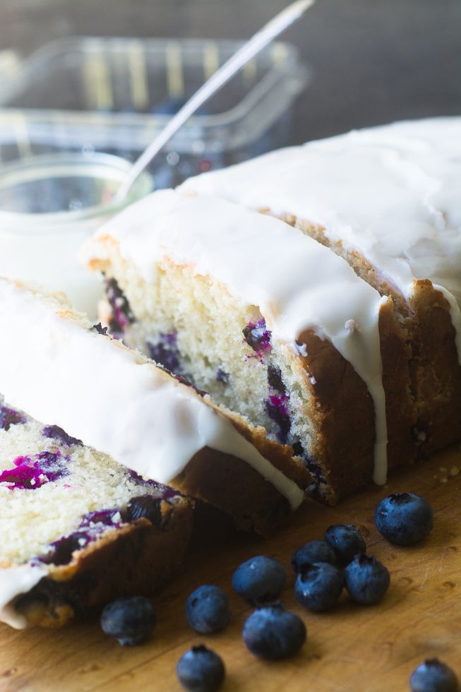 Blueberry Lemon Pound Cake | theviewfromgreatisland.com