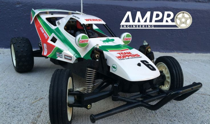 E24: Tamiya Grasshopper 2 and How to Stripe Your Car!