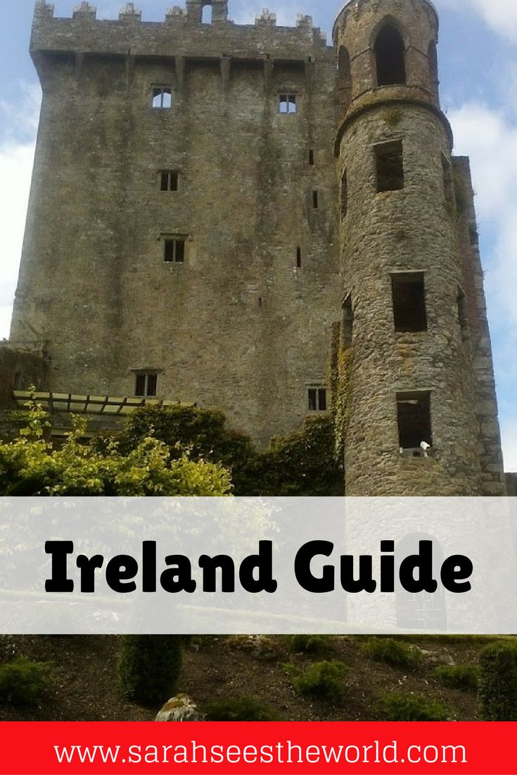 Dublin, Ireland is full of great food and drinks and plenty to see and do. We share some of the awesome things you can do in Dublin including tours, sights, and the Blarney stone. You'll definitely want to check this out before your next trip to Ireland and save it to your travel board.