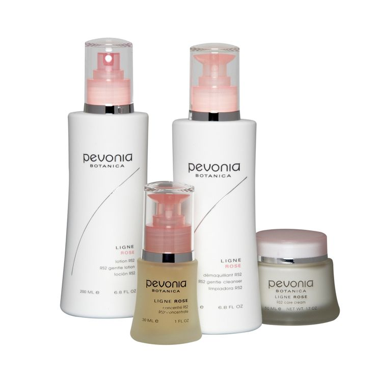 The RS2 Collection by Pevonia. For those with rosacea, hypersensitive skin and microcirculation problems who want a hydrating moisturizer. Also great for those who are allergy-prone. #Rosacea #Redness #Skincare #CareCream #Pevonia #Beauty