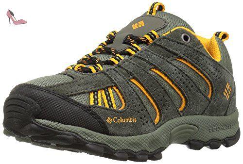 Columbia Childrens Venture, Chaussures Multisport Outdoor Mixte Enfant, Noir (Black, Graphite), 31 EU