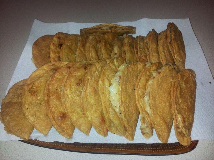 Tacos Dorados De Papa Mexican Food Recipes Food Mexican