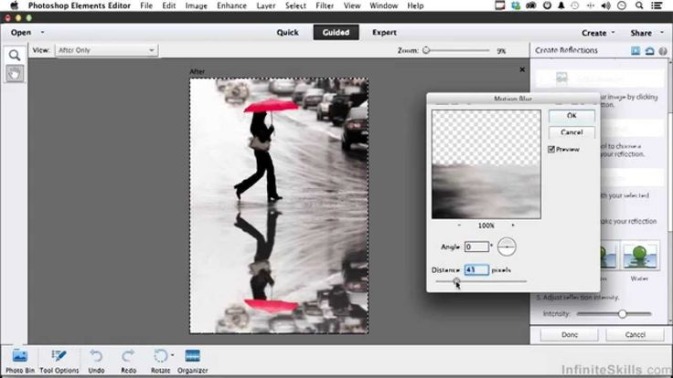 Use Adobe Photoshop Elements 12 to add reflections to your images #photography #training http://www.infiniteskills.com/training/learning-adobe-photoshop-elements-12.html?utm_source=pinterest&utm_medium=pinterest_pin&utm_campaign=photoshop_elements_12_adding_reflections&network=pinterest