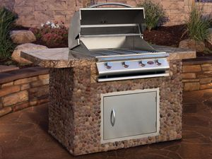 42 best patio images on pinterest outdoor cooking for Barbecue islands for sale
