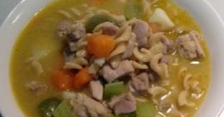Chicken and vegetable hearty  soup
