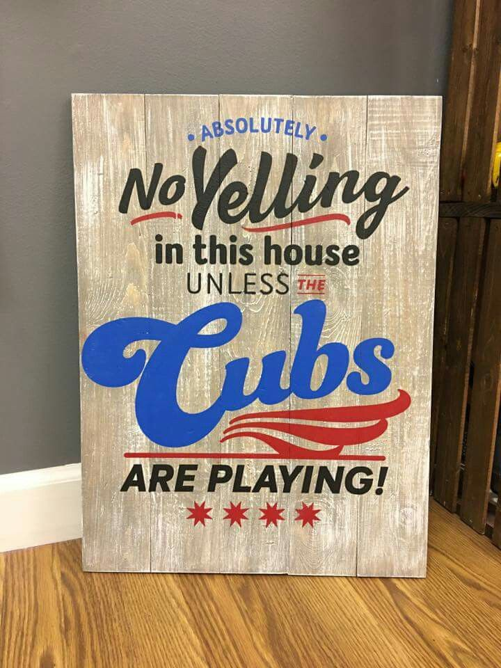 Not unless the Cubs are playing