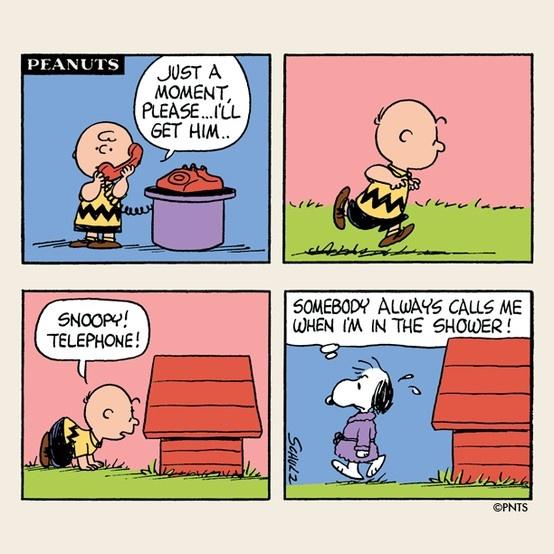 Charlie Brown Phone Ring