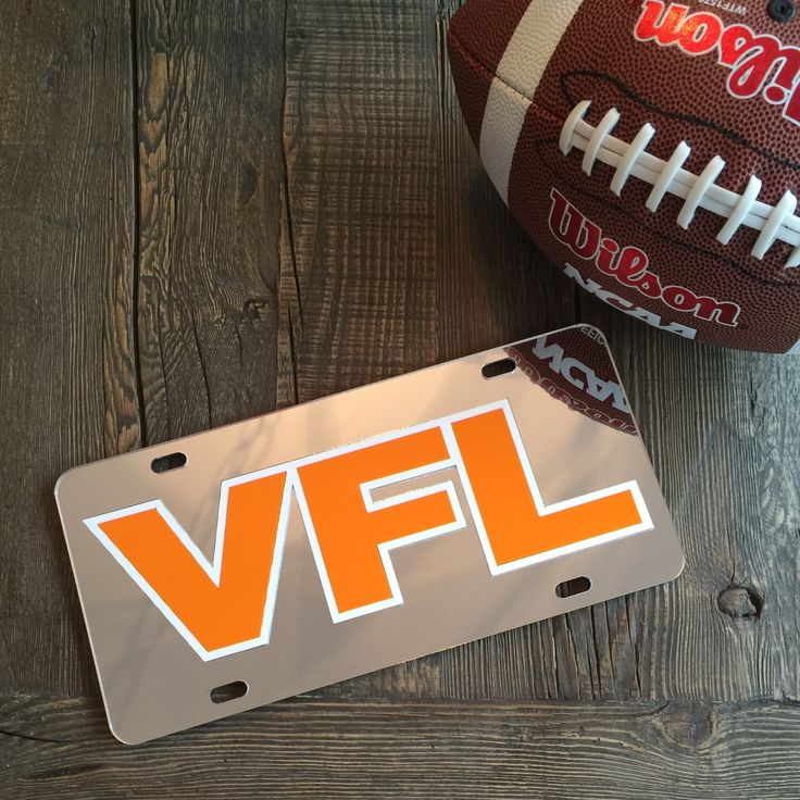 """Show that you're a true fan of the Vols with this impressive """"Laser Cut"""" VFL…"""
