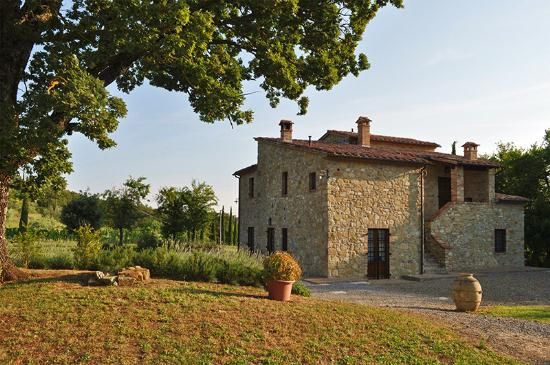 Prestigious farmhouse-'Podere Colombaiolo' for sale in Tuscany. Within a village in the municipality of San Casciano dei Bagni (SI) #dreamhome #properties #realestate #luxury #tuscany #forsale #tuscanproperty #tuscanproperties
