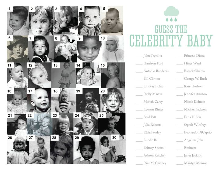 Guess the Celebrity Baby Photo | Gallery | Wonderwall.com