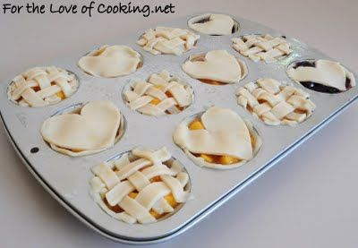For the Love of Cooking » Mini Peach Pies. Jackson wants to try these next!
