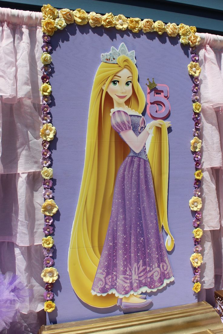 Best day ever rapunzel party by tabletop treats backdrop - Fotos pinterest ...