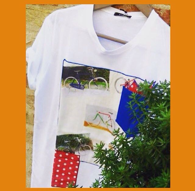 T-shirt stampata #Saldi #SS15 #FEEL #FeelAbbigliamentoRavenna