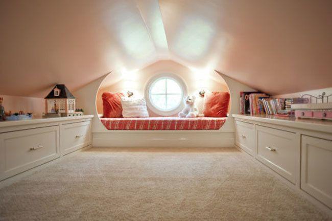 Round Window Reading Nook 540x359