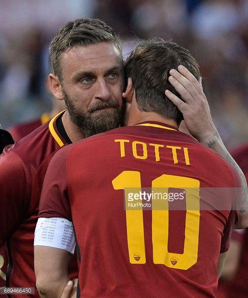 News Photo : Francesco Totti and Daniele De Rossi during the...