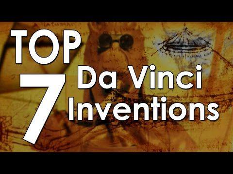 Top 7 Leonardo da Vinci Inventions - YouTube