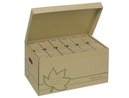 Cajon Fast-PaperFlow cartón ecoline para almacenamiento