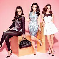 El estilo de las hermanas Kardashian en una colección de moda en Sears México