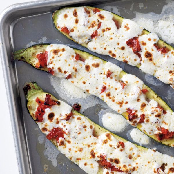 Meat, Tomato, And Mozzarella Stuffed Zucchini Cups Recipes ...