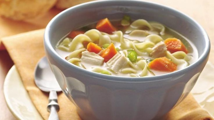 Take a simmering pot of comforting chicken noodle soup to the table in 25 minutes!