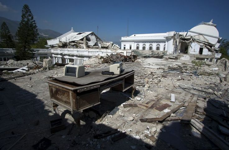 The Presidential Palace ended up in ruins after the 2010 Haiti Earthquake. The remains of the Beaux Arts structure were dismantled to build ...