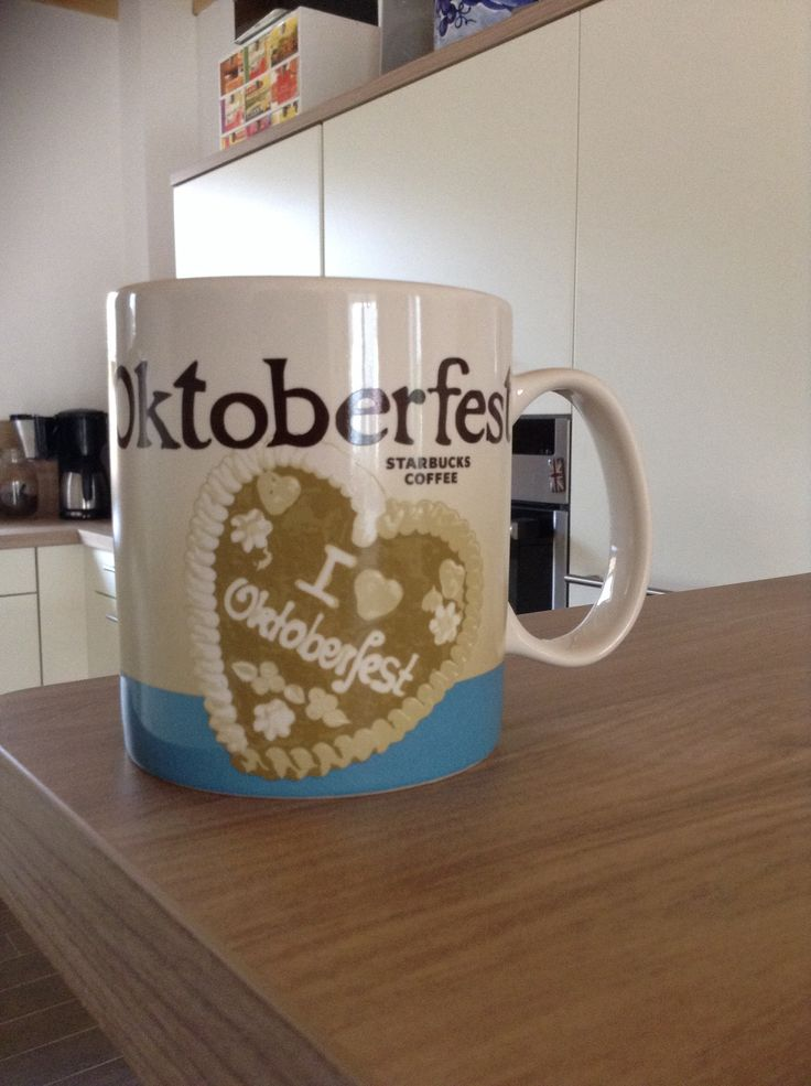 Oktoberfest Starbucks City Mug