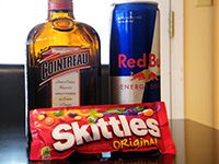 I want to try a Skittle Bomb.  Only because it's called a Skittle Bomb.