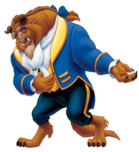 Beauty and The Beast PNG Clipart