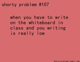 And the teachers put the problems really high... to me at least!