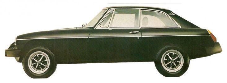 1978 MGB GT Sports.