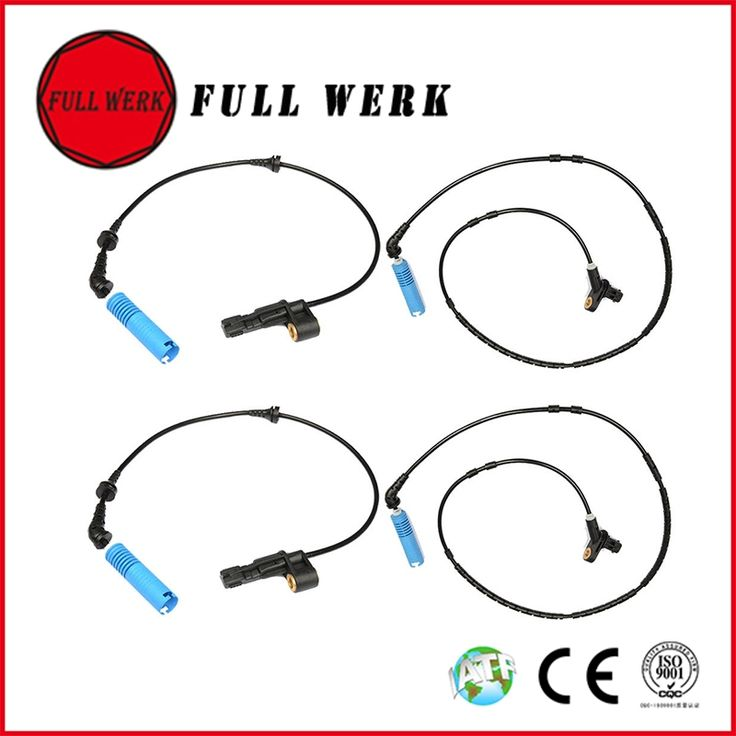 48.99$  Buy here - http://alicth.worldwells.pw/go.php?t=32762766579 - Front Rear Left Right ABS Wheel Speed Sensor 4pcs/1set for BMW E46 316 i 318 320 325 34526752681 34526752682 34526752683