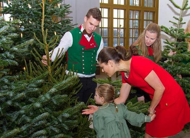 Tomera prinsessa Estelle ihastuttaa – tiesi heti, mitä halusi: Valitsi joulukuusen yhdessä tyylikkään Victoria-äidin kanssa - Kuninkaalliset - Ilta-Sanomat