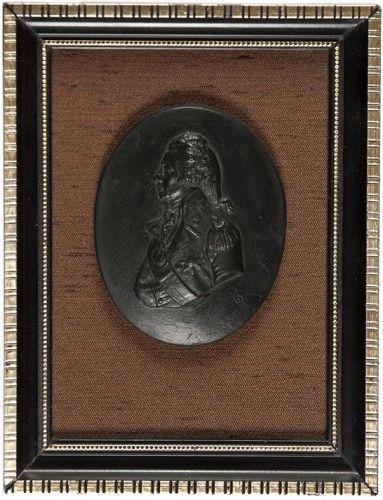 [NELSON] DE VAERE, John (after). [Portrait Medallion of Horatio, Viscount Nelson].  [n.d.]. #naval #portrait