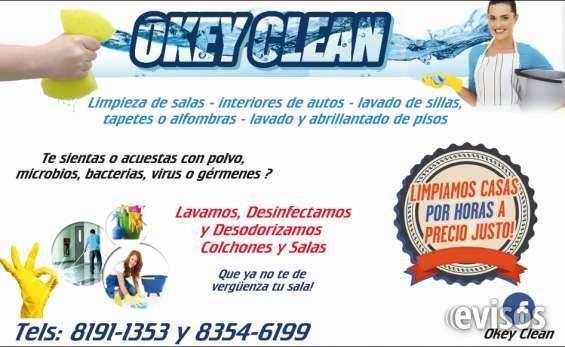 LAVADO DE SALAS EN MONTERREY  LAVADO Y DESINFECCION DE SALAS A DOMICILIO, EN MONTERREY Y EL AREA METROPOLITANA.SECADO RAPIDO **  ...  http://monterrey-city.evisos.com.mx/lavado-de-salas-en-monterrey-id-613088