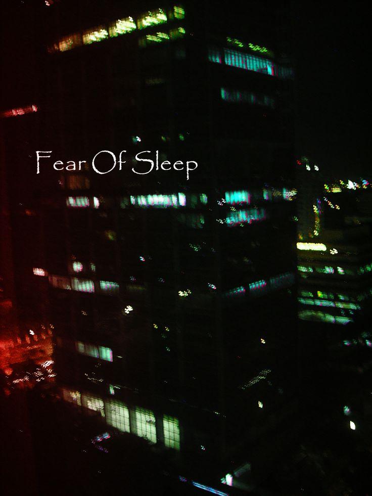 A Fear Of Sleep Pic, Jakarta, Indonesia.