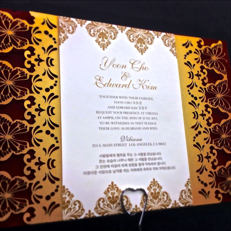 We unite traditional design elements with unique laser cutting to form an elegant package.