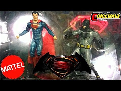 Batman Vs Superman San Diego Comic Con Exclusive Deluxe Box - Review Pet...