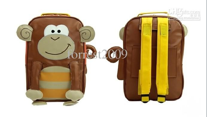 Wholesale Cute Children Luggage Backpack(7 models)/Dual Use Luggage Backpacks Carrier/Trolley Luggage Bags, Free shipping, $30.0/Piece   DHgate