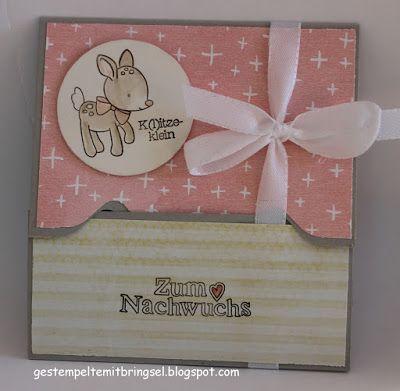 Gestempelte Mitbringsel: Verpackung für Gutscheinkarte mit Envelope Punch B...