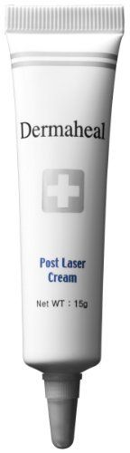 Dermaheal Cosmeceuticals Post Laser Cream, 0.52-Fluid Ounce by Dermaheal Cosmeceuticals. Save 20 Off!. $36.00. Post Laser Cream is a clinically-tested and specially formulated to help promote healing of damaged skin following laser procedures. It accelerates the natural rejuvenation process of your skin, reduces redness and irritation, and soothes, moisturizes and protects. Cosmetic laser procedures commonly cause redness, inflammation itchiness and dryness in your skin. The ...