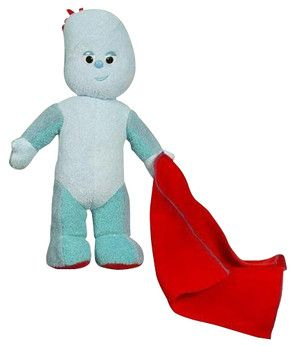 In The Night Garden 12 Talking Toy - Igglepiggle Your child can have great fun with these In the Night Garden Talking Toys! Squeeze the tummy of Upsy Daisy, Igglepiggle or Makka Pakka to hear the theme sound from In The Night Garden. These 12rdquo