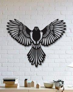 - Özel Tasarım Duvar Aksesuarı - Siyah Döküm Boya - ÜCRETSİZ KARGO
