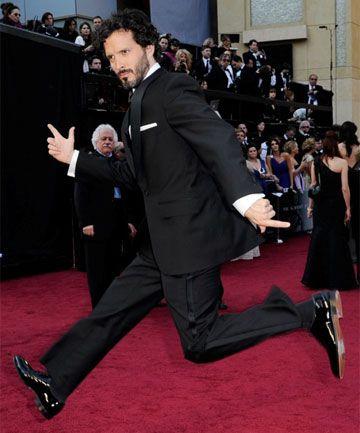 Bret McKenzie, class act.: Oscars Winner, Oscars Red Carpets, Bret Mckenzie, Oscars 2012, Red Carpets Fashion, Awesome People, Academy Awards, Brett Mckenzie, Bret Mackenzie