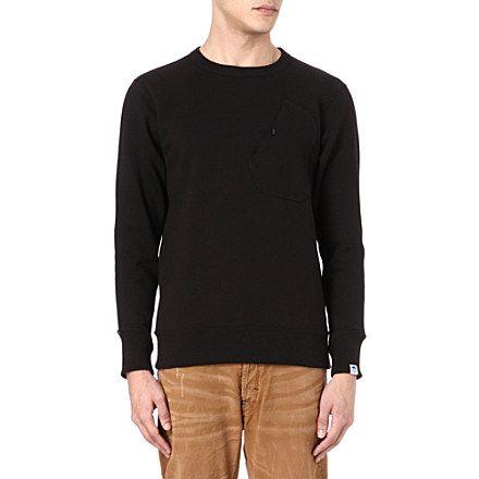 G-STAR Pocket sweatshirt: Black