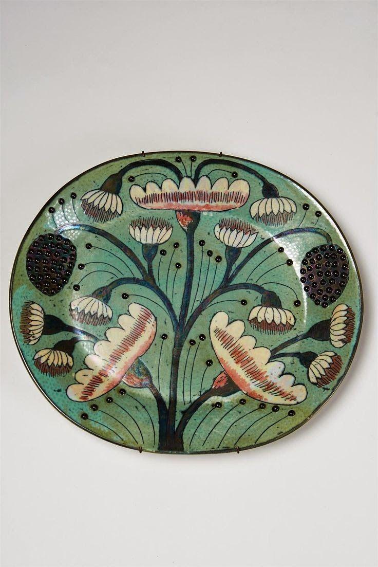 A plate a day. Artist: Birger Kaipiainen